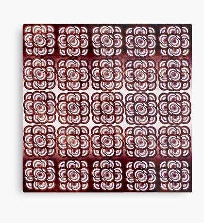 Pattern #17 Metal Print