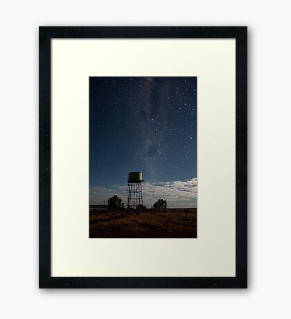 Tower to the Stars Framed Print