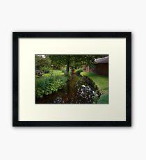 Still Waters Run Deep - Morden Hall Park, London. Framed Print