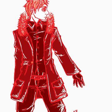 John Watson - Red - No Text by Sno-Oki