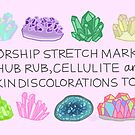 Worship Stretch Marks by Rachele Cateyes