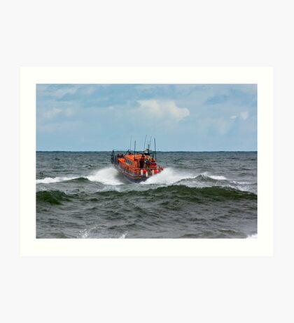 """RNLI Lifeboat - """"Grace Darling"""" Art Print"""