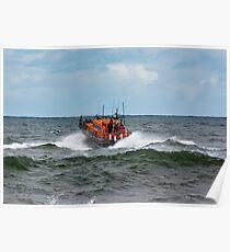 "RNLI Lifeboat - ""Grace Darling"" Poster"