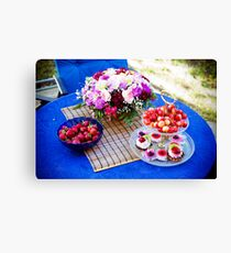 Summertime... And the Weather is Nice. Canvas Print