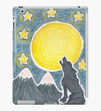 Howling at the Moon iPad Case/Skin