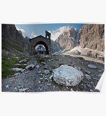 Dolomites - Rifugio Brentei Poster