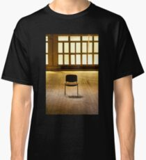 Lone chair empty hall  Classic T-Shirt