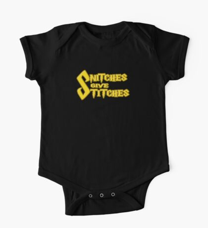Snitches Give Stitches Kids Clothes