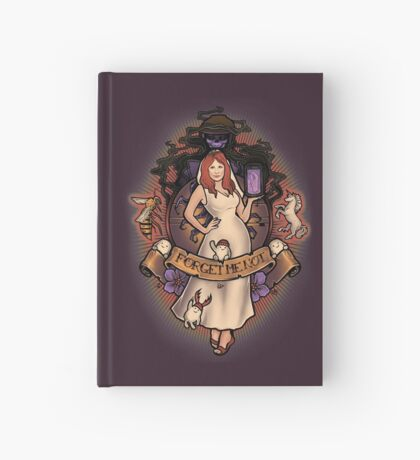 Forget Me Not Hardcover Journal