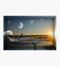 """"""" Lunar Tides """" Photographic Print"""
