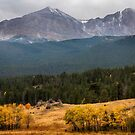 Mount Meeker and Longs Peak Autumn Scenic View by Bo Insogna
