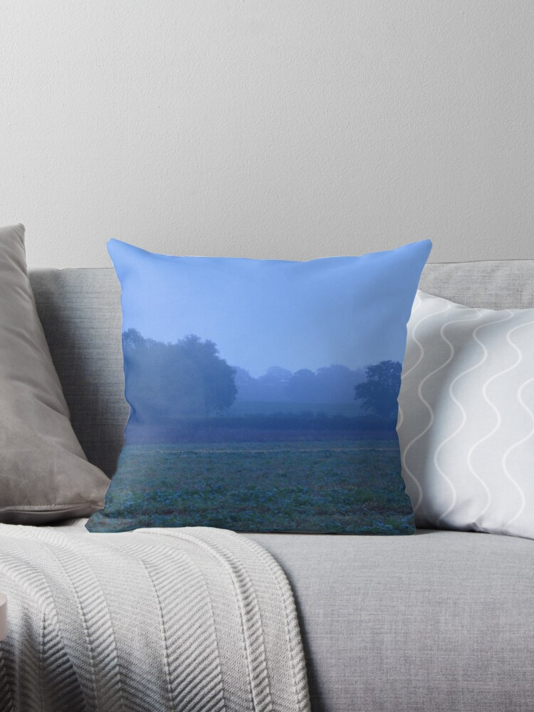 Blue Misty Landscape by James Searle