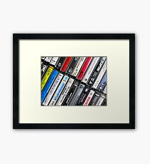 Retro Style Framed Print