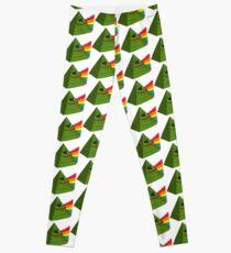 Rare Pepe Pyramid Rainbow Leggings