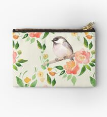 Bird and flowers Studio Pouch