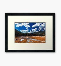 summer landscape Framed Print