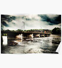 Auburn Bridge Poster