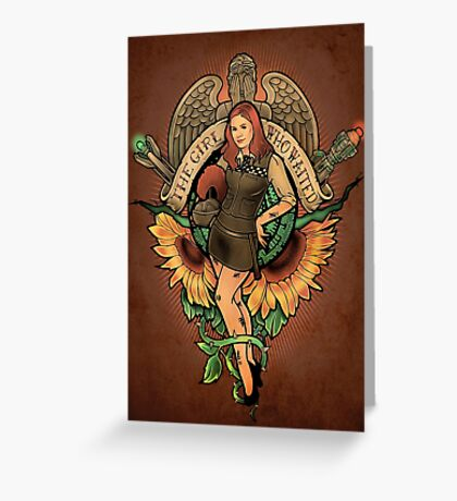 The Girl Who Waited Greeting Card