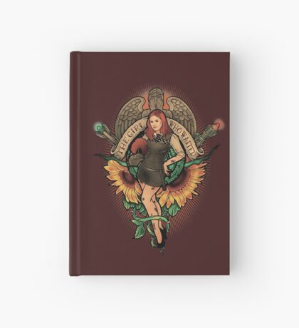 The Girl Who Waited Hardcover Journal