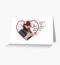 Squirrely Valentine Greeting Card
