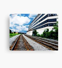 "A Building called ""History"" Canvas Print"