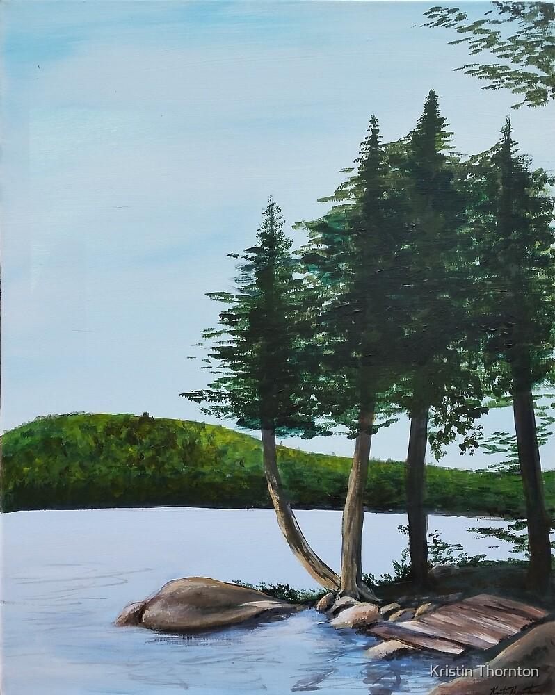 Cold Stream Pond by Kristin Thornton