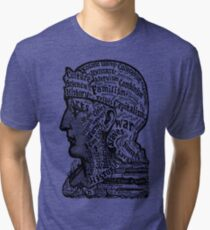 Sivartha Historia Mind Map 1860 Tri-blend T-Shirt