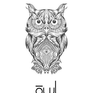 Owl with style by AndreaPuglisi