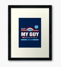 American Debate Framed Print