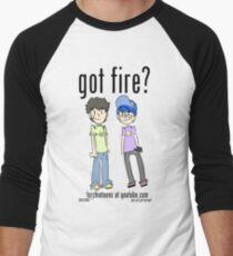 (Official) TorchinTeens Men's Baseball ¾ T-Shirt