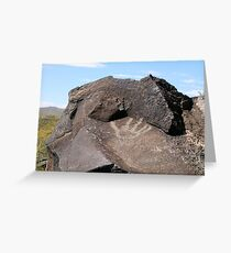 Petroglyph National Monument - Albuquerque, NM Greeting Card