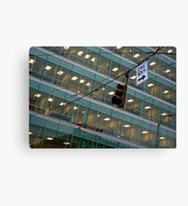 Cubicle City Canvas Print