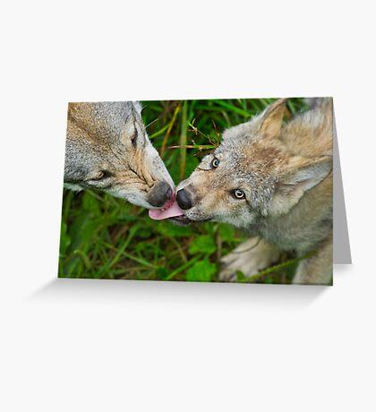 Tongue Lashing Greeting Card