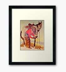 Charles Hargens Stetson Hat Advertisement Framed Print