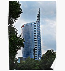 Latvija, big useless building. Poster