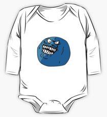 I LIED - Blueberry Face Meme One Piece - Long Sleeve