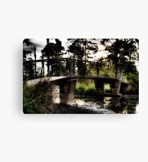 Swamp Bridge Canvas Print
