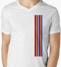 ernie stripes Men's V-Neck T-Shirt