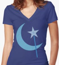 Great and Powerful! Women's Fitted V-Neck T-Shirt