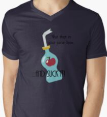 Put that in your juice box... Mens V-Neck T-Shirt