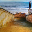 Seaside Stairs by Eve Parry
