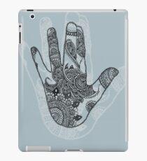 blue shadow iPad Case/Skin