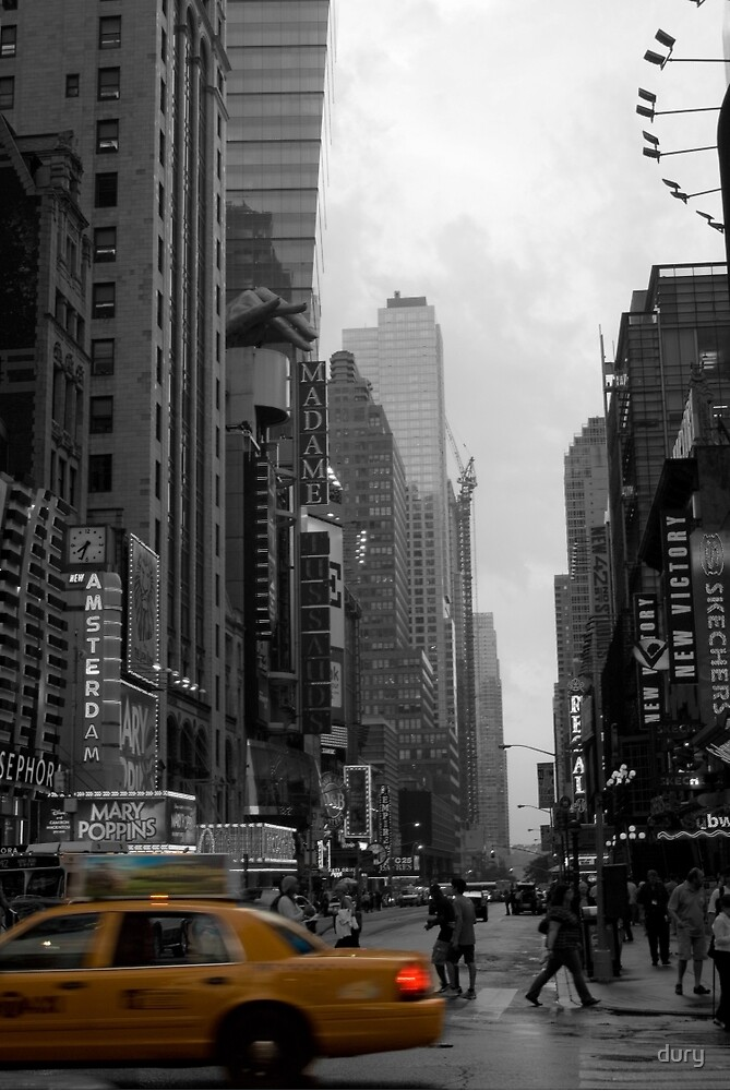 new york taxi by dury