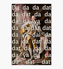 You'll be Back Hamilton King George III Da dat Photographic Print