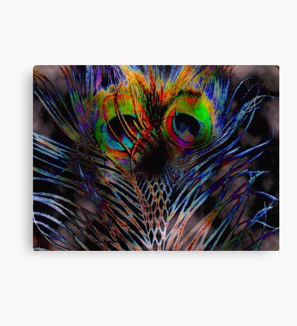 Shy Owl Canvas Print