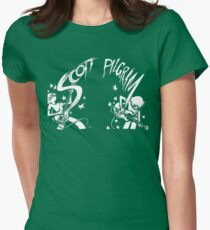Scott Pilgrim's Precious Little Life Womens Fitted T-Shirt