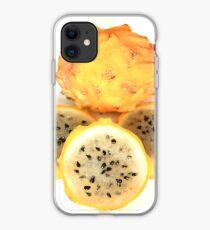 Yellow Pitahaya Slices iPhone Case