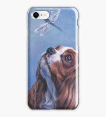 Cavalier King Charles Spaniel Fine Art Painting iPhone Case/Skin