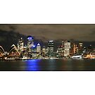 Sydney lights by footsiephoto