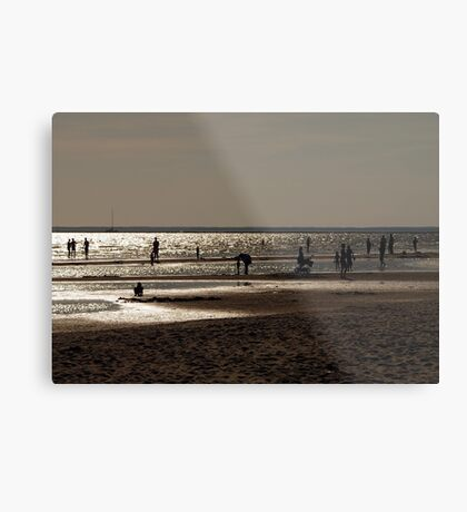 August beach. II Metal Print